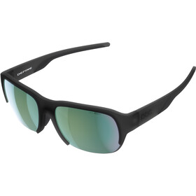 POC Define Gafas de Sol, uranium black translucent/grey deep green mirror